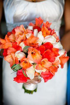 Beautiful fall bridal bouquet | Callaway Gable Photography
