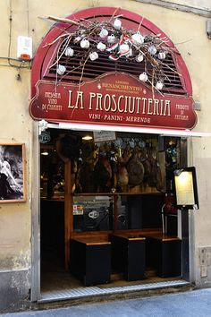 Prosciutteria - Florence , Italy