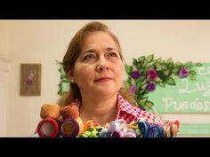 Bordado en cinta para principiantes 3 de 7 - Embroidered ribbons for beginners - YouTube