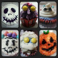 Cupcakes Día de Muertos