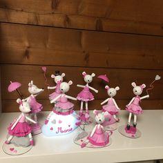 Figurines et veilleuse Lilibelle en porcelaine froide de Patapascale