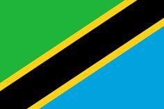 Ficheiro:Flag of Tanzania.svg