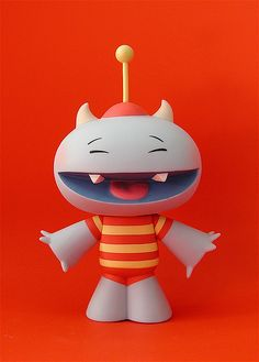 Elizabeth Ito's Mr. Monster vinyl figure