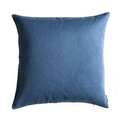 Elvang Classic cushion cm from Elvang Denmark by Elvang Denmark Classic Cushions, Weaving Techniques, Denmark, Throw Pillows, Blue, Design, Steel, Ideas, Toss Pillows