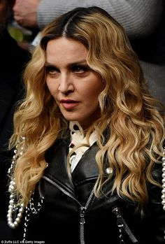 Madonna leads the celebs packed into Madison Square Garden for UFC 205   Daily Mail Online