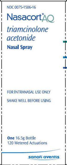 Nasacort AQ Nasal Spray Learn more at http://www.rxwiki.com/nasacort-aq #NasacortAQ #Allergies #rxwiki