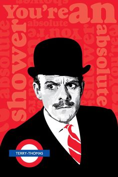 Terry-Thomas - poster by DadManCult