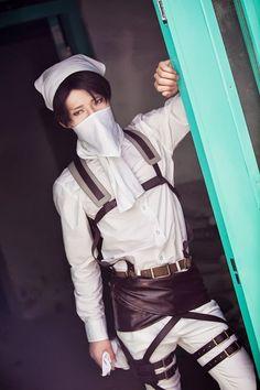 Levi Shingeki no Kyojin/Attack on Titan cosplay