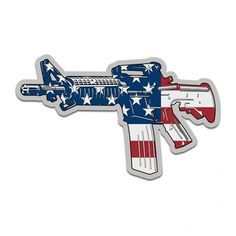 Straight Conservative Die Cut Decal Sticker Car TRUCK USA 2A 4X4 GUNS SIG AR