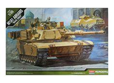 Academy Hobby Plastic Model Kit M1A1 Abrams Iraq 2003 Tank 1/35 Scale 13202 NIB #Academy