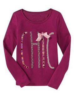 Embellished fashion T   Gap