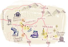 Nik Neves - Map of Chile