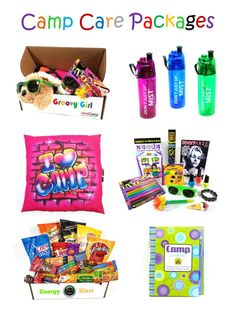 Summer camp care packages by Sealed With A Kiss