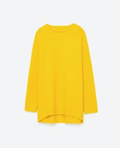 Image 8 of MAXI ROUND NECK SWEATER from Zara