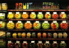 Harmon's Emigration Market, Salt Lake City, UT. Best cut fruit!