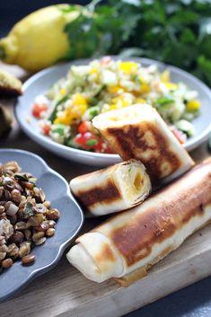 Orientalische Vorspeisenplatte | Fräulein Sommerfeld Bbq, Dessert, Sausage, Oriental, Meat, Dinner, Food, Friends, Chef Recipes