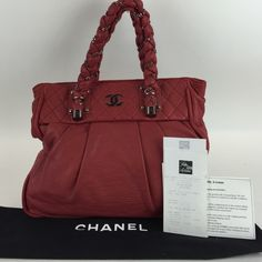 Chanel Lady Braided Xl Tote This bag is in great pre loved condition the corners and outside exterior have some light wear the interior is clean with no signs of wear. MAX060833LZXZPP CHANEL Bags Totes