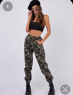 Military Costume Halloween, Army Girl Costumes, Army Costume, Military Costumes, Halloween Costumes For Teens, Costumes For Women, Army Pants Outfit, Camo Pants, Ropa Hip Hop