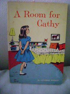 A Room for Cathy  Catherine Woolley Scholastic Book TX237 5th Printing 1967