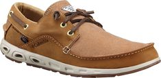 Columbia Sportswear Men's PFG Super Bahama Boat Shoes (Elk/Curry, Size - Men's Casual Shoes at Academy Sports Loafer Shoes, Men's Shoes, Loafers, Fishing Shoes, Mens Slip On Shoes, Mens Boat Shoes, Columbia Shoes, Skechers Work, New York Mens