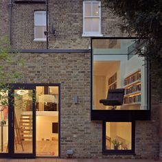 From modern extension ideas and glass boxes to oak frames and brick built additions, find inspiration with our pick of the best contemporary extension designs Extension Costs, Brick Extension, Extension Designs, Glass Extension, Rear Extension, Extension Ideas, Cladding Design, Exterior Cladding, Facade Design