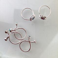 Rings, rings, rings!  For Spring!  Camille Hempel Design
