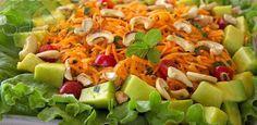 Salada de Cenoura Refrescante