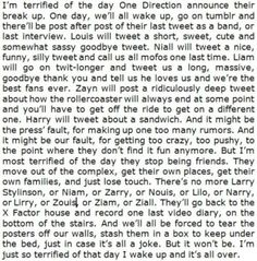 THIS IS SOOO SAD!!! OMG!!! One Direction, 1D, Harry Styles, Niall Horan, Liam Payne, Zayn Malik, Louis Tomlinson, Hazza, Harreh, Nialler, Lou, Tommo .xx