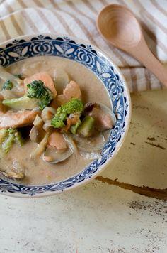 鮭とアサリの豆乳シチュー by 菅田奈海 | レシピサイト「Nadia ...