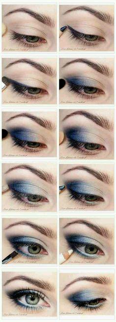 Great smokey eye tutorial  #Beauty #Trusper #Tip