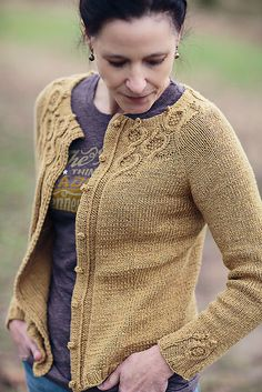 Ravelry: Coriander pattern by Jennifer Wood is a top down knit in a 4ply fingering yarn.  Exquisite design!