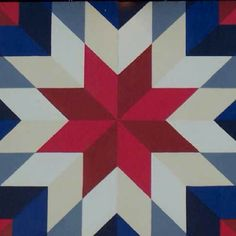 Barn Quilt Patterns for Quilts - Bing images Quilt Square Patterns, Barn Quilt Patterns, Pattern Blocks, Square Quilt, Star Quilts, Easy Quilts, Quilt Blocks, Barn Quilt Designs, Quilting Designs