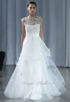 Monique Lhuillier Fall 2013 - Madeline -  Romantic and Beautiful Wedding Dress!