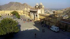 A aproch towards amer fort in a different way .