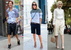 Bermuda shorts 2014 Street Style