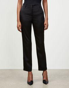 $498.0. LAFAYETTE 148 Pant Radiant Satin Cloth Clinton Pant #lafayette148 #pant #clothing Slim Pants, Stretch Pants, Wide Leg Pants, Lafayette 148, Ankle Pants, Ankle Length, Pants For Women, Trousers, Nordstrom