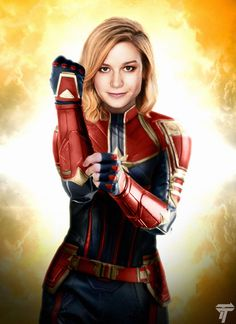 Captain Marvel by Timetravel6000v2.deviantart.com on @DeviantArt