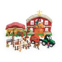 Discount School Supply - Country Farm Play Set - 32 Pieces