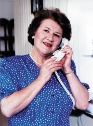 Patricia Routledge as the prissy hilarious, social climbing Hyacinth Bucket in, 'Keeping Up Appearances'.