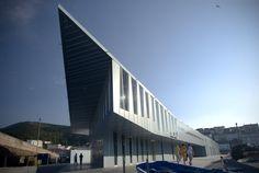 CREUSeCARRASCO Arquitectos || Lonja para el puerto de Fisterra (A Coruña, España) || 2006