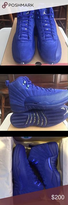 Jordan 12 Deep Royal Blue Brand new in the box Jordan Shoes Sneakers