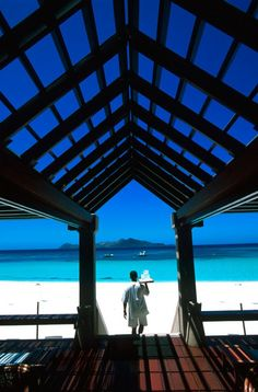 Amanpulo Resort in the Philippines