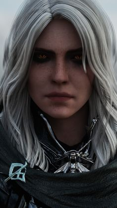All things related to The Witcher. The Witcher Books, The Witcher Game, The Witcher Wild Hunt, Ciri Witcher, Witcher Art, Fantasy Posters, Fantasy Art, Character Portraits, Character Art