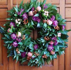 summer blush wreath