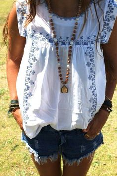 Cute casual blouse for Sprjng/summer