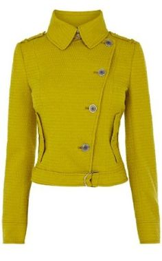 "Angie of YouLookFab.com liked this for FW2013 + Spr ""nice bit of sour chartreuse"""
