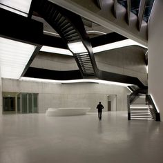 MAXXI National Museum of XXI Century Arts by Zaha Hadid.