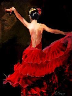 flamenco dancer - Buscar con Google