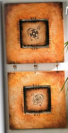 ampliar Ceramic Wall Art, Wood Wall Art, Mandala Painting, Painting & Drawing, Santa Fe Style, Wood Creations, Paintings I Love, Native Art, Tribal Art