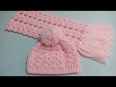 gorro tejido con estambre de grosor medio y gancho número 3.5 mm de aluminio. múltiplo de 6. Crochet Baby Bonnet, Crochet Baby Beanie, Baby Knitting Patterns, Loom Knitting, Crochet Patterns, Crochet Hat Tutorial, Easy Crochet, Crochet Scarves, Crochet Hats